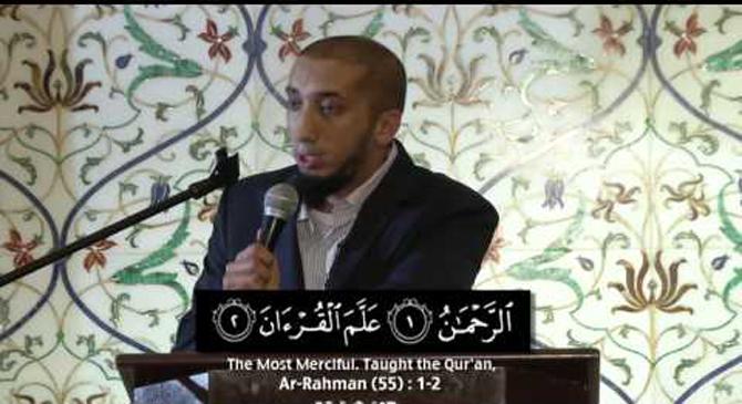 Nouman Khan reflects on some verses from Surat Ar-Rahman.